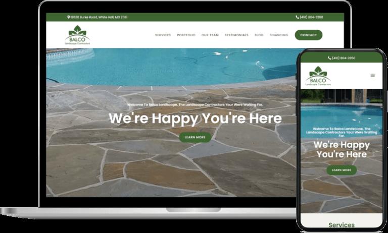 Home improvement marketing strategy for Balco Landscape Contractors