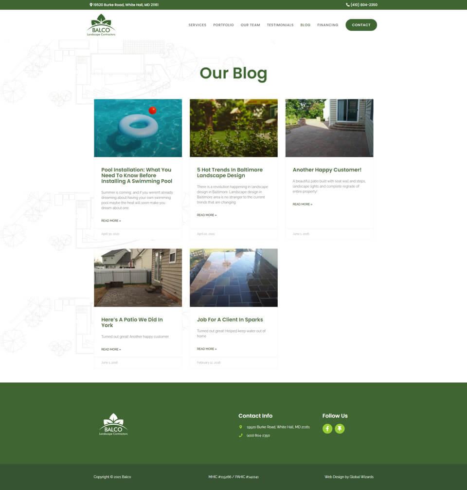 Balco Landscape Contractors