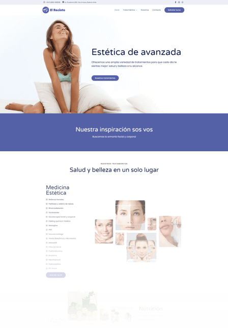 Lifestyle marketing for El Recinto