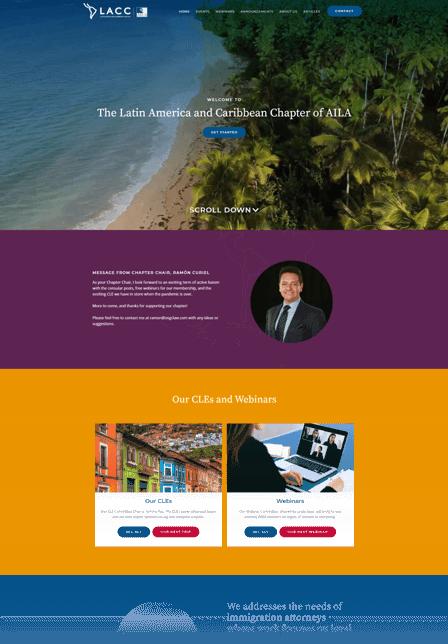Custom web development servicesLACC AILA