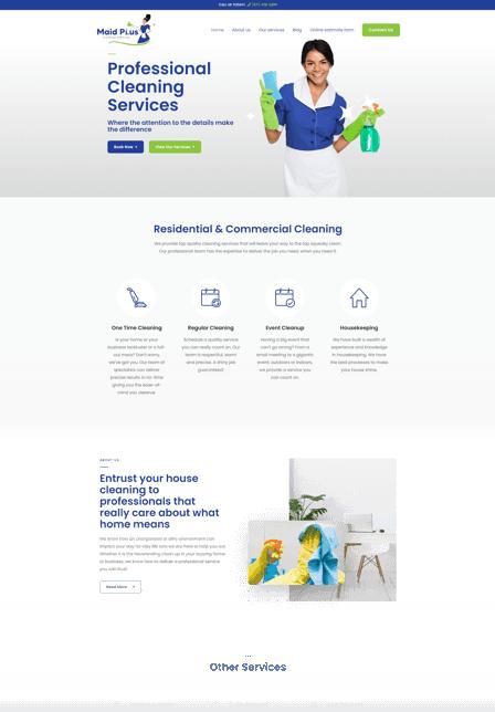 Website developers Maid Plus