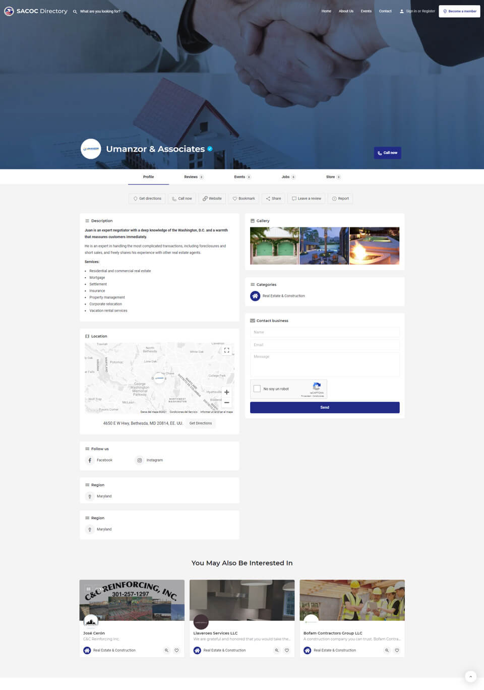 SACOC Directory