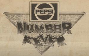 Pepsi Number Fever logo