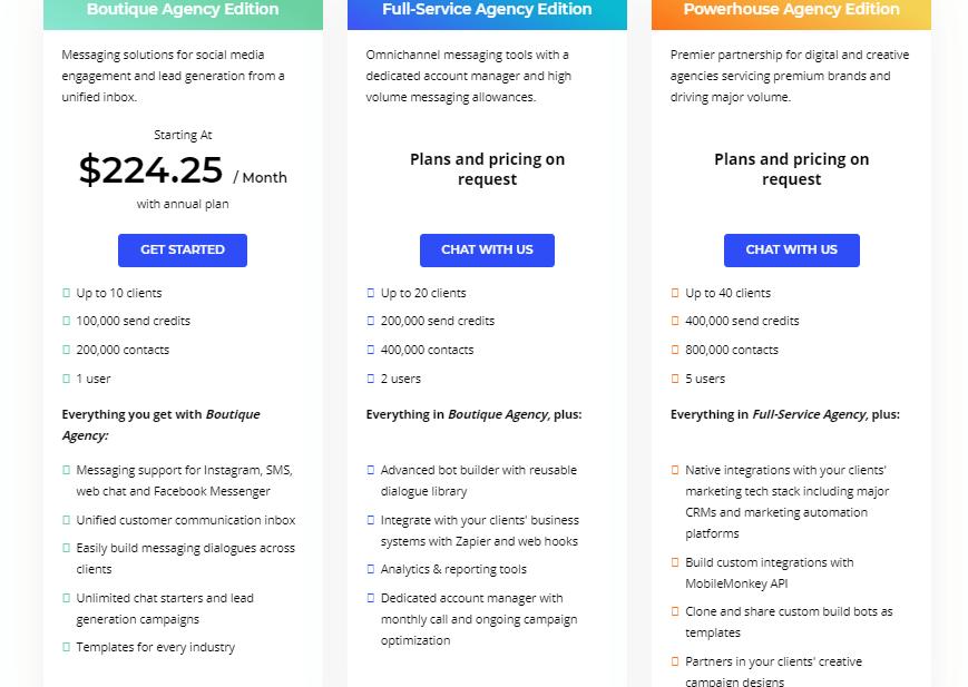 agencio pricing