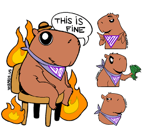 Capybaras Memes