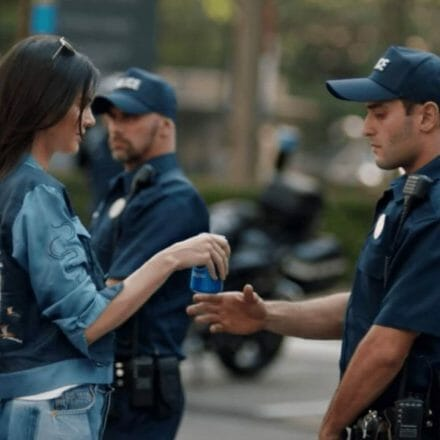Pepsi ad representing one of the worst failed marketing campaigns in history.
